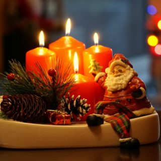 christmas candles red santa klaus decoration ornamentation candle light flame 834075.jpgd